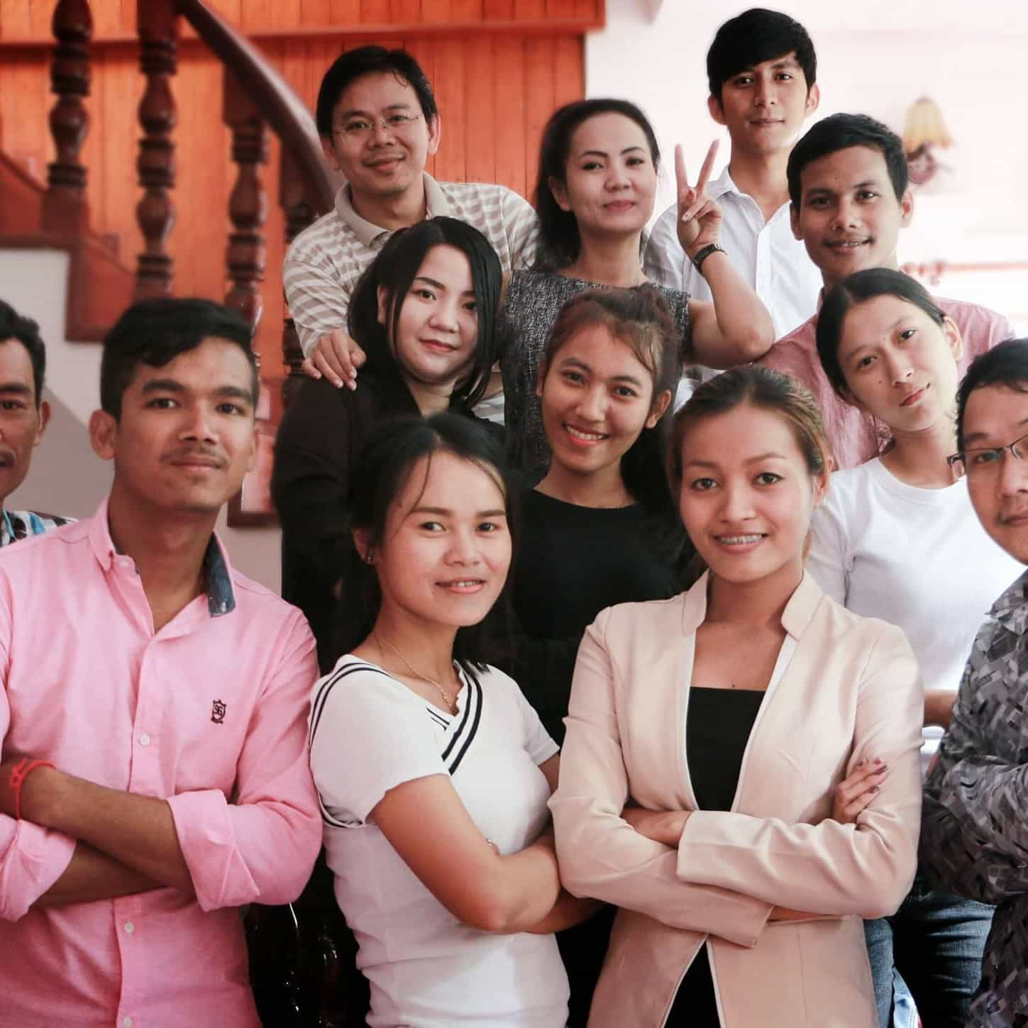One of the best team in advertising in Cambodia.